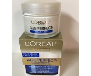 KEM DƯỠNG DA BAN ĐÊM LOREAL Age-Perfect Night For Mature Skin 75g