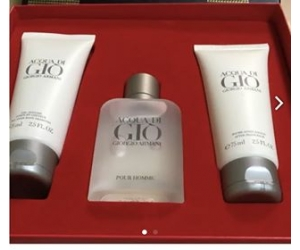 Set Armani Gio For men