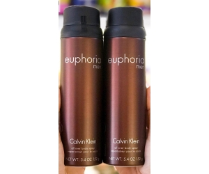 Body Spray  CK Euphoria Men 152g