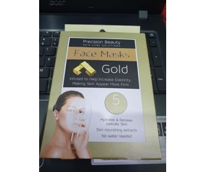 mặt nạ Precision Beauty face masks Gold 5 packs
