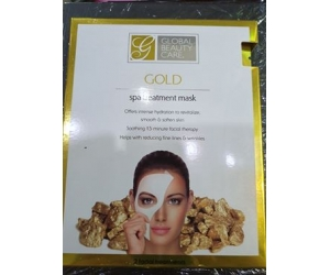 Mặt nạ Global Beauty Care Premium Gold Spa Treatment Masks-2 pc