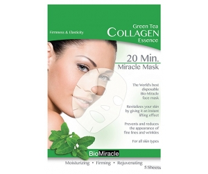 Greentea collagen essence  mask(sheet)(5 packs)