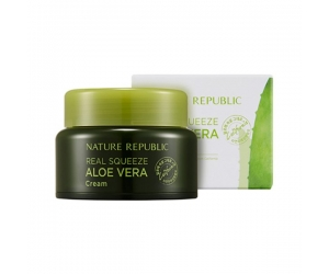 Kem dưỡng da Nature Republic Real Squeeze Aloe Vera (50ml)